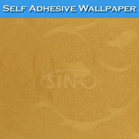 3103 SINO Flat Smooth Surface Gold 3D Water Resistant Wallpaper