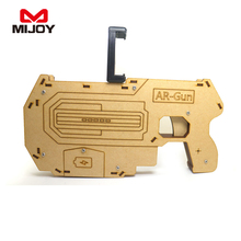 Hot!!! distributor wanted Reality Experience wood AR gun game kids toy guns