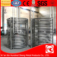 Best selling SGS certification stainless steel tube coil