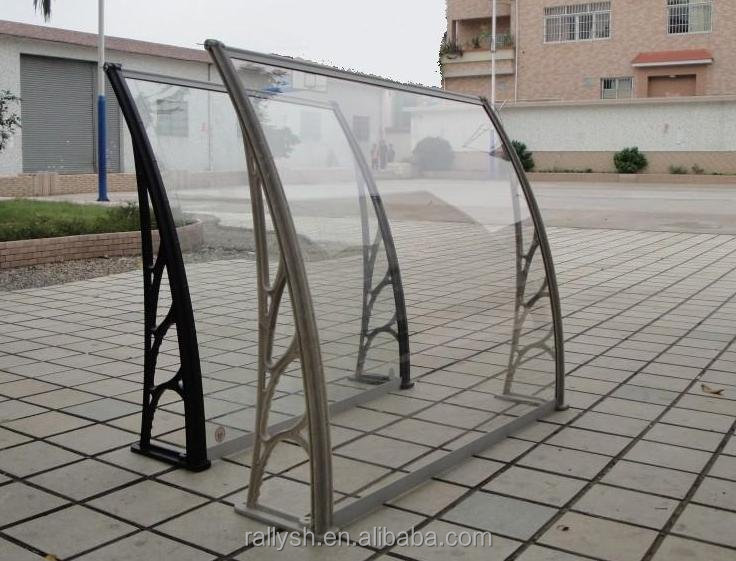 PC Canopy (polycarbonate canopy), Transparent and Silent Awning (polycarbonate endurance board)