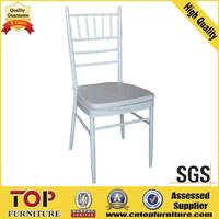 metal Stacking steel and aluminium wedding tiffany chair