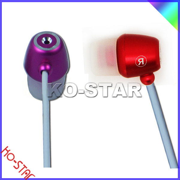 In-Ear Earphone, Fashion Earphone, 3.5mm Stereo Earphone for Mobile Phone with Mic, for MP3 and phone