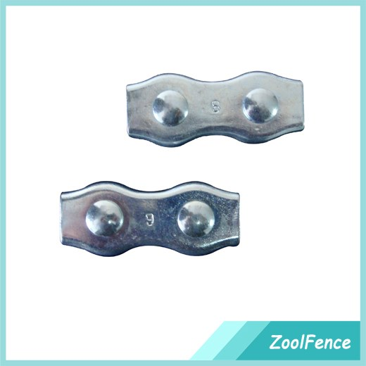 Cheap farm fence steel rope connector for fencing wires