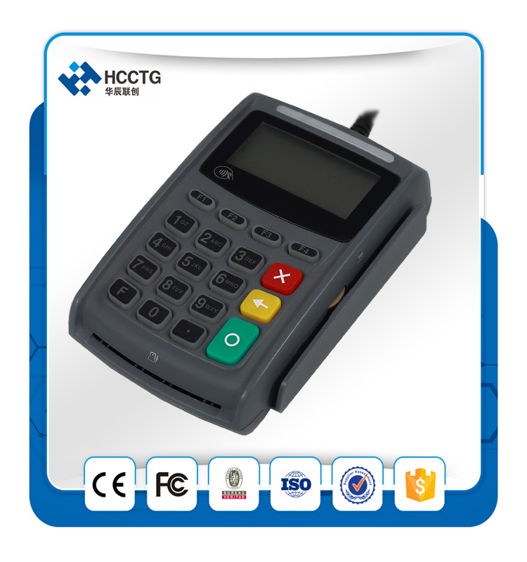 msr pinpad E-Payment programmable Pinpad EMV card reader Works with PC, ECR, PDA or POS --E4020N