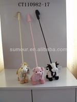Stuffed Animal Pet Teaser Stick Toy