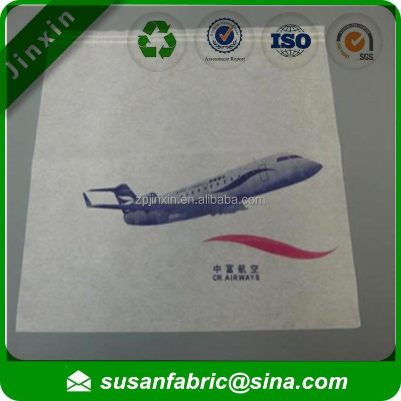 100% pp spunbond nonwoven Disposable airline headrest cover, airline headrest cover, airline seat headrest cover
