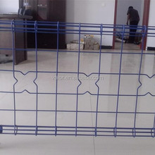 Superior Mesh Opening Double Loop Decorative Fence/Ornamental Double Loop Wire Fence