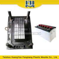 Zhejiang used plastic battery container mould injection moulding for sales