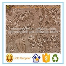 flower embossed pvc Home Furnishings leather