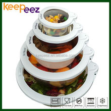 5 Pieces Set Keepeez Vacuum Lid