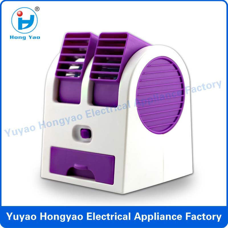 Newest Usb Fan Air Conditioner Mini Table Fan For Office