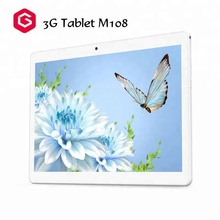 MTK6582 Quad Core 1GB RAM 16GB ROM 9.2mm Ultra Slim Metal Body WCDMA 3G Android Tablet 10 inch