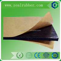 NBR fire retardant thermal insulation rubber foam sheet/roller for refrigeration duct