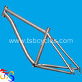high performance 3AL/2.5V titanium mtb bicycle frame TSB-ODM1203