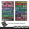 Wholesale cosmetics 120 colors matte color eyeshadow palette private label cosmetics lipstick