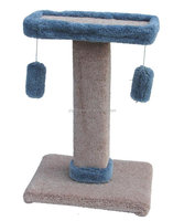 premium carpeted cat tree furniture Unique pet products wholesale tiny toy for puppy