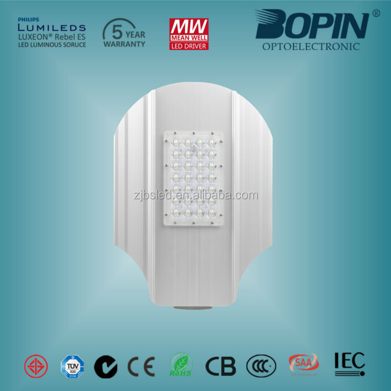 35W or 60w led street light with meanwell driver