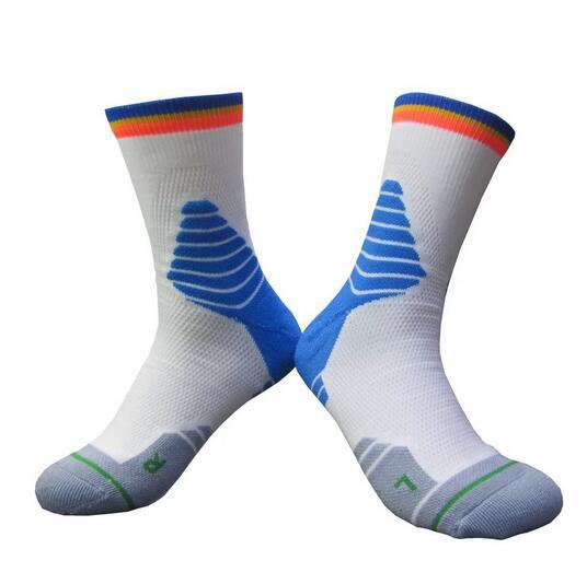 3009 Professional Basketball Thick High Tube Sports Riding Running Socks