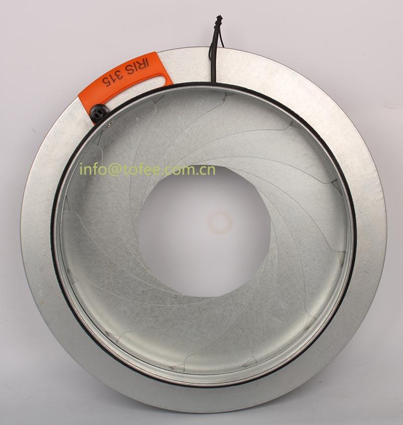 Iris Damper Volume Control Damper For Round Duct Buy