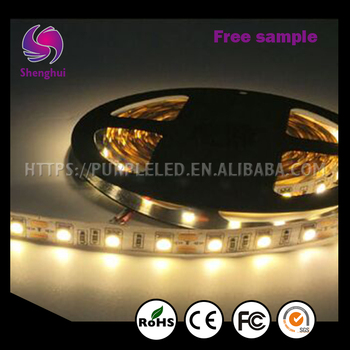 Shenghui Wholesale 12 Volt RGB Led Flexible Strip Light Waterproof DC 12V SMD 5050 3528 2835 5630 Waterproof Flexible Light
