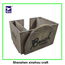 hot selling Tissue Holder wooden napkin holder with custom logo