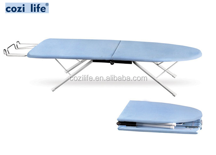 foldable wooden top tabletop ironing board