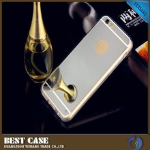 preminum mirror tpu cover for iphone 4/4s mobile phone case
