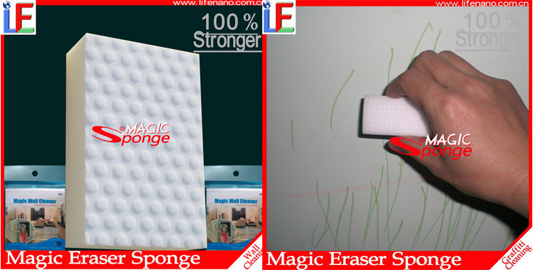 Home Decroation Wall Tile Melamine Magic Cleaning Sponge Pad