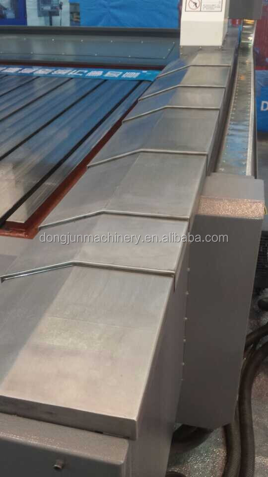 A3 steel plate telescopic cover for CNC