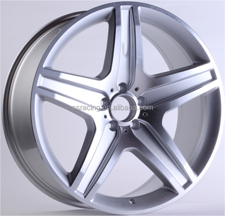 "15"" 17"" 18"" 20"" 21"" and 22"" hyper silver machine face alloy <strong>wheel</strong> for SL series"