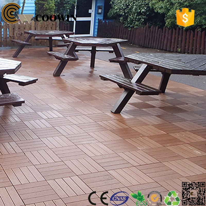 wood-plastic composite noble house flooring for outdoor