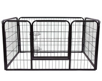 China manufactuer cheap price 4,6,8 panels puppy playpen folding puppy fence