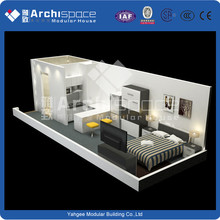 China manufacturer 70 square meter prefab house with CE&ISO