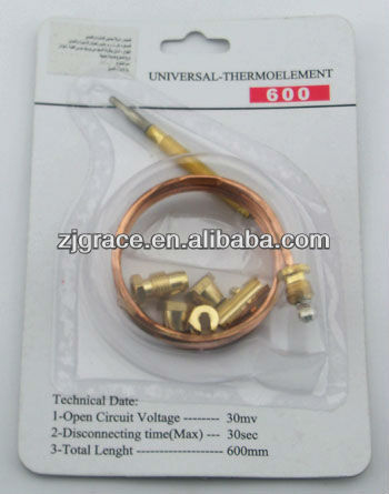Repair kit universal thermocouple for gas appliance