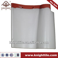 White Glazed Spanish Clay Roofing Tile