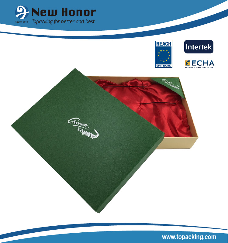 NEW HONOR customized leather belt box , gift packaging box