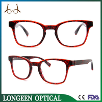 Two Color Oversized Glasses Frame