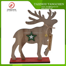 New Style Wooden Deer Animated Indoor Christmas Ornament Christmas Decorations