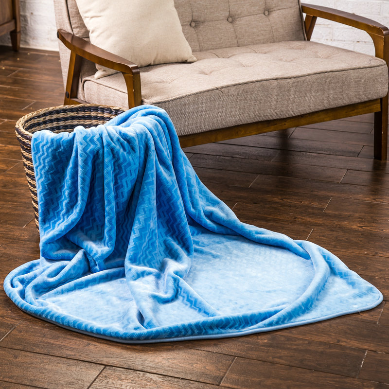 Various colors cheap customize mink blankets