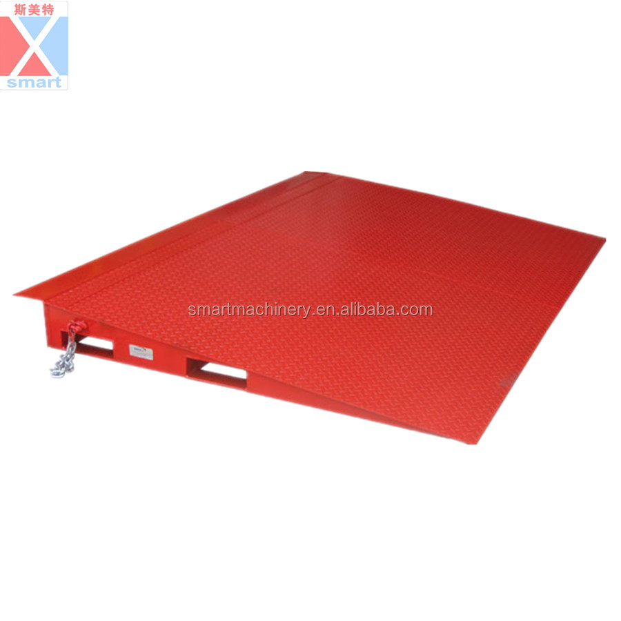 8T Small portable folding trailer ramp
