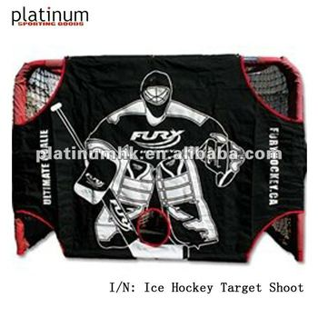 "ice hockey target shoot(72""x48""x32"")"