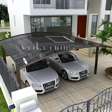2017 hot sale carport convenient price car parking shed