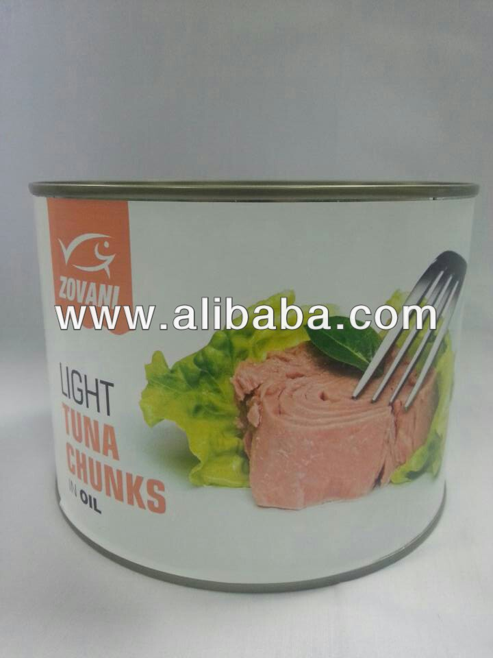 Zovani's Canned Tuna chunk or flakes in vegetable oil