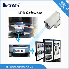 automatic license plate recognition barrier gate system