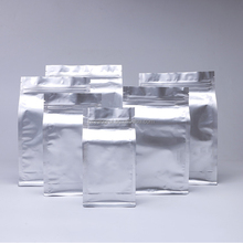 Plastic flat bottom aluminum foil Snack Food Biscuit Cookie Packaging Bags