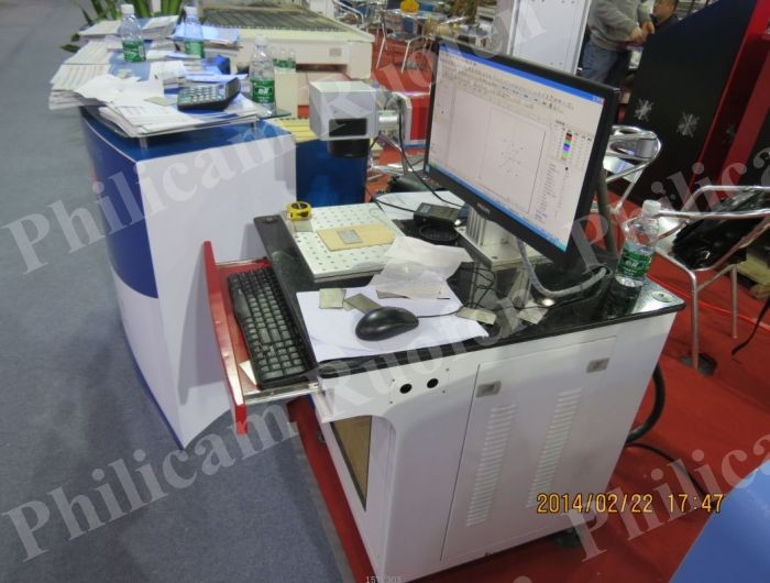 Philicam Cheap Price Arcylic Metal Fiber Laser Marking Machine with CE