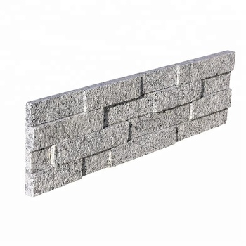 Decorstone24 White Granite Outdoor Stone Wall Tile Stacked Panel Cladding