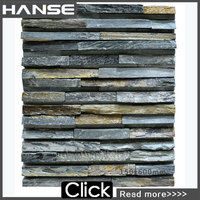 HS-MB003 ledge slate nature rusty bian stone
