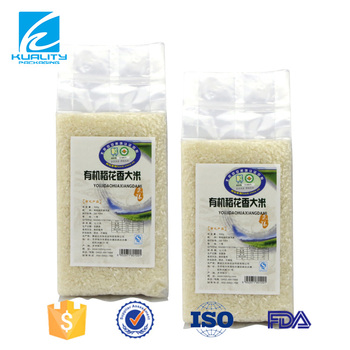Safety Food Grade!! Gravure printed food packaging plastic rice bags