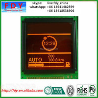 retail lcd display for clock